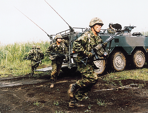 陸上自衛隊の訓練